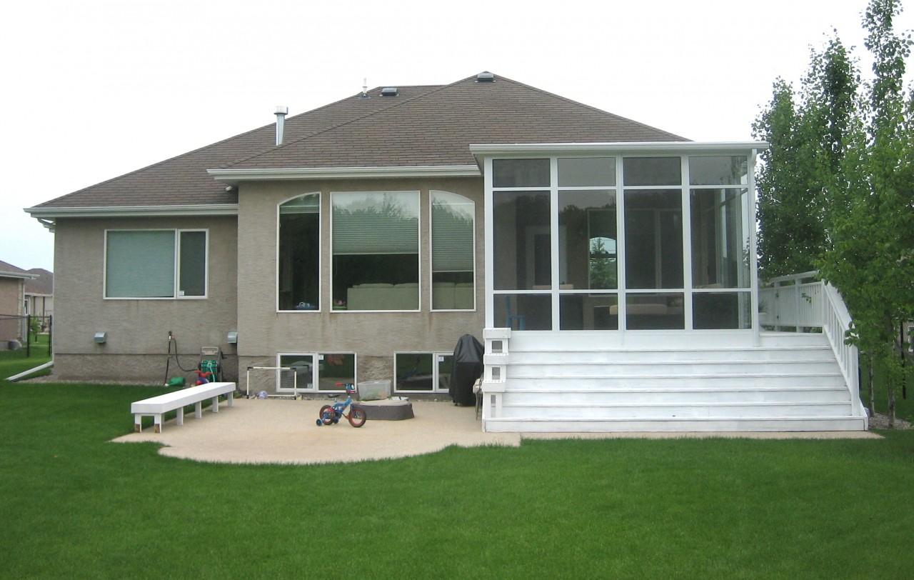 Studio flat style roof