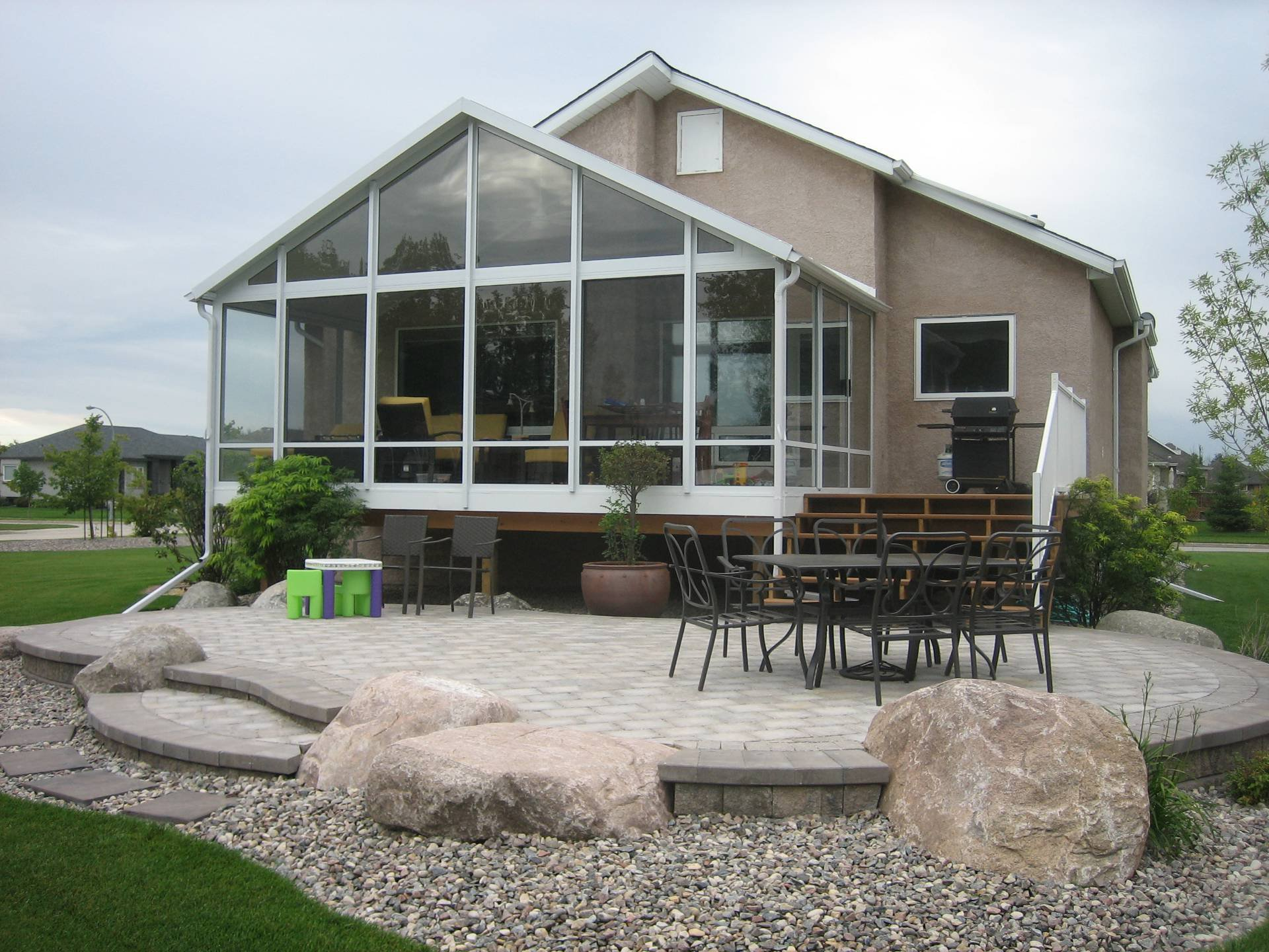 Gable Sloped Style Roof Glastar Sunrooms By Sunshade