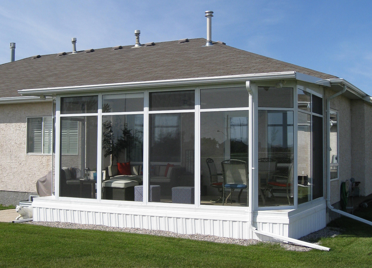 Studio Flat Style Roof Glastar Sunrooms By Sunshade